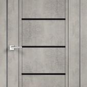 Дверное полотно NEXT 1 Муар светло-серый