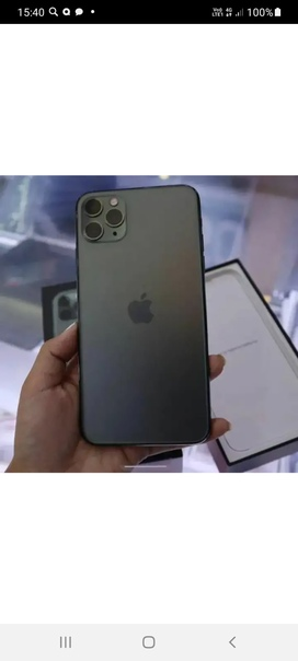 Утерян iphone 11 pro max в черном чехле ,просьба в...