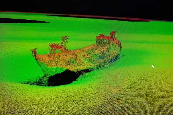 Студентка БФУ нашла затопленное судно на дне Балти...