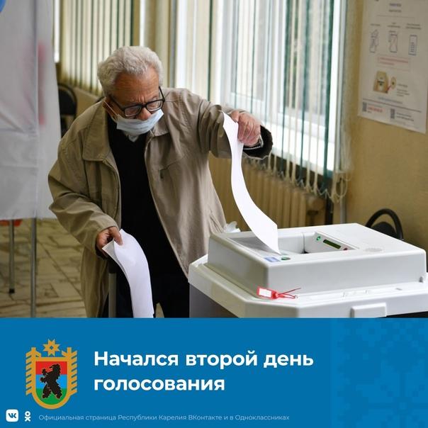 В республике вновь открылись 468 избирательных участков, сделать свой выбор можно с 8.00 до 20.00. В первый день,