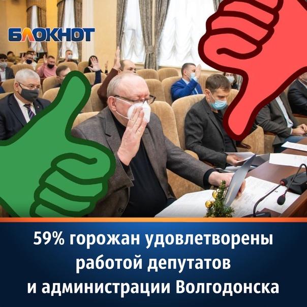 В Волгодонске провели опрос, по итогам которого вы...
