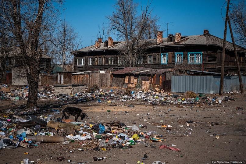 Власти Читы обвинили самих жителей Антипихи в неубранной за полгода свалке