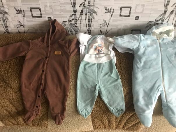 #ПродамБгд Продам , детские вещи. От 0 до 3 месяце...