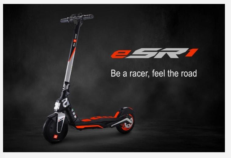 Aprilia eSR1 поступит в продажу с января 2021