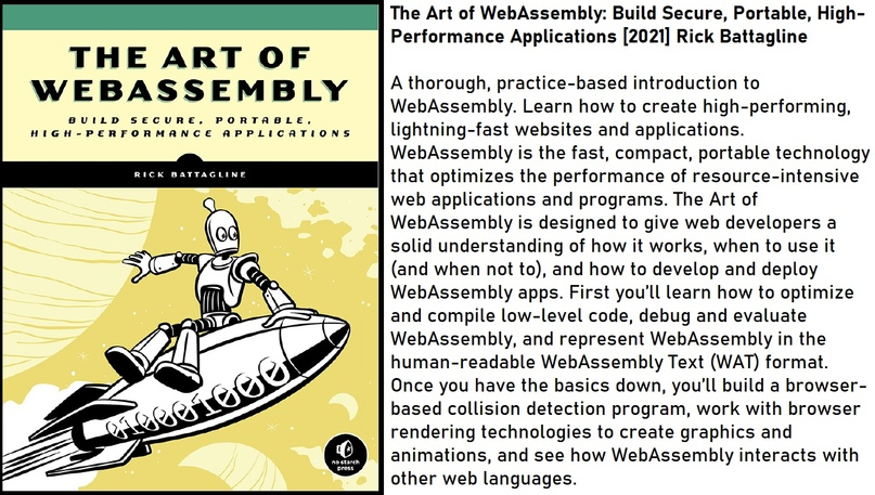 The Art of WebAssembly: Build Secure, Portable, High-Performance Applications [2021] Rick Battagline