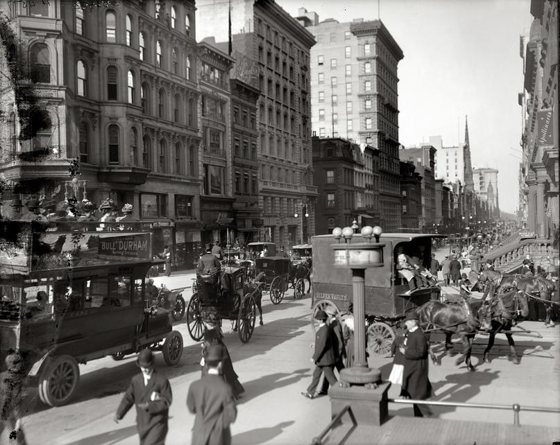 HD-фотографии городов США сделанные в 1900-1915 годах, изображение №4