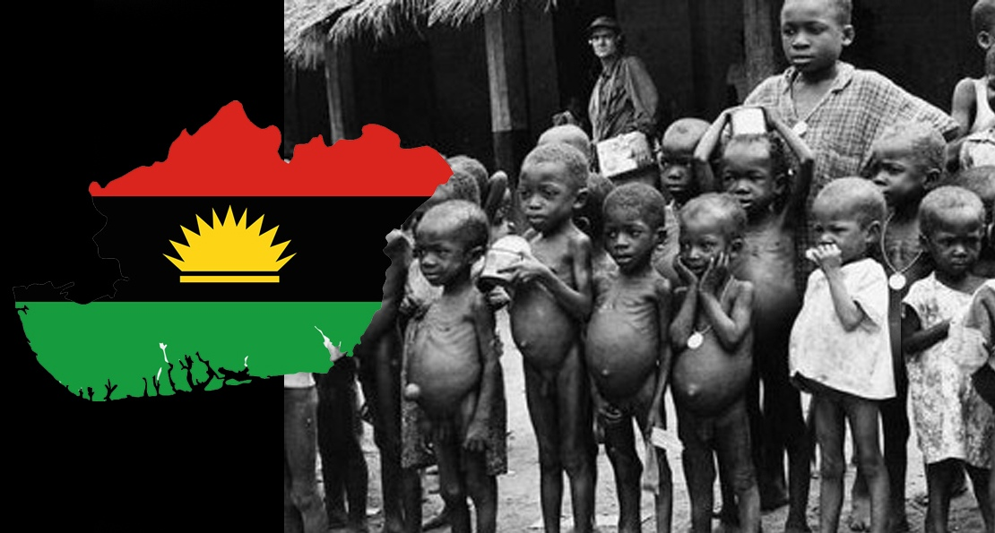 Голод в Биафре