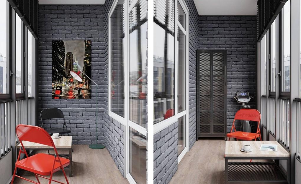 Проект квартиры-студии 25 кв.