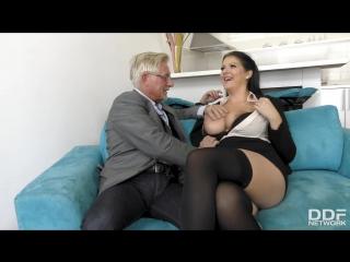 Anissa jolie - the big busty surprise [anal, big ass, big tits, brunette, cum on tits, natural tits, 1080p]