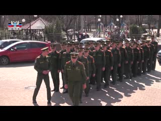 Курсанты Донецкого военного училища посетили планетарий.