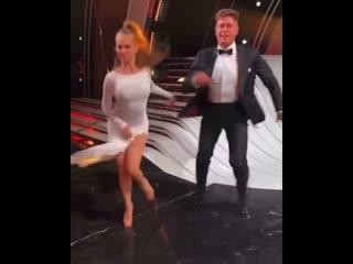 Дава и Дарья готовятся к шоу  « Танцы со звёздами»