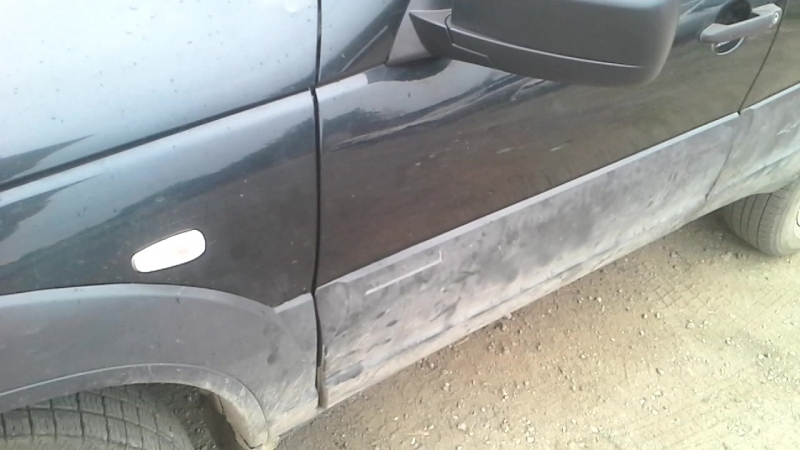 Удаление вмятин без покраски, после ремонта. Стоимость работы за обе двери 20тр.