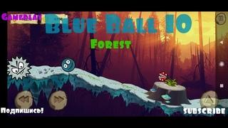 Blue Ball 10 walkthrough Forest - Прохождения Синий Мяч 10 Лес #Android