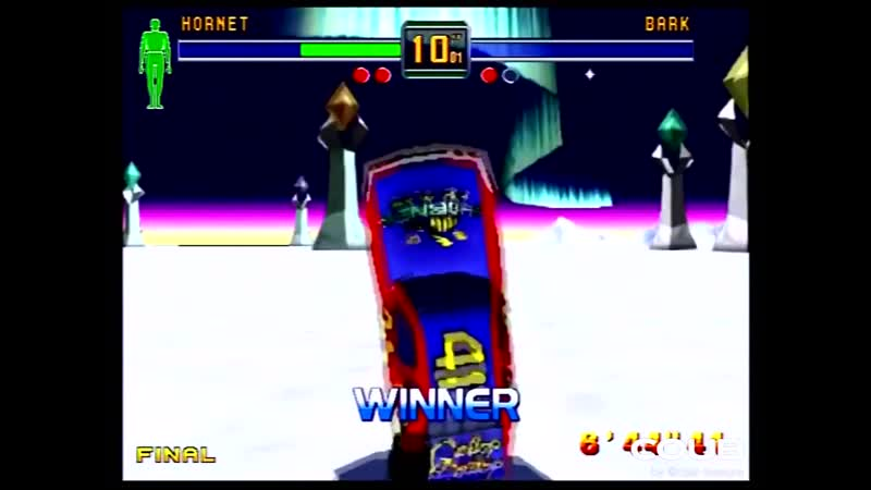 Fighters Megamix Sega Saturn 1P Mode as Hornet