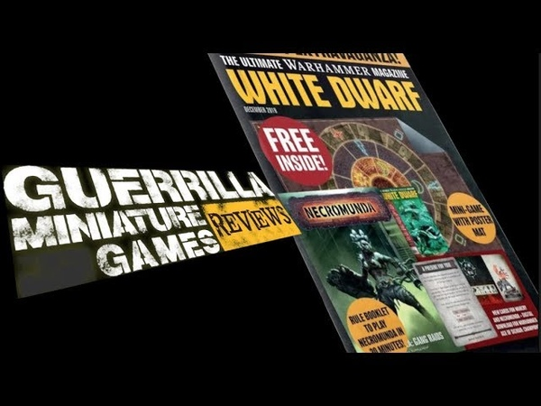 GMG Reviews Necromunda Gang Raids White Dwarf Dec 2019