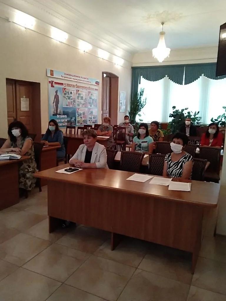 В администрации Петровского района состоялось заседание санитарно-противоэпидемиологической комиссии
