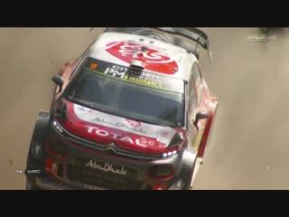 WRC 2018. Round 13. Australia. Day1 Highlights