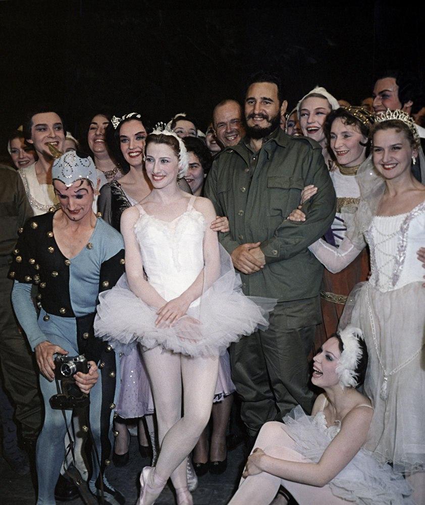 Фидель Кастро. Большой театр, 1963 год