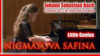 Concerto No. 1 for piano and orchestra Little Genius Нигматова Сафина /  Nigmatova Safina