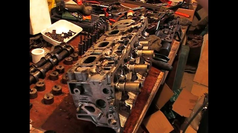 Ремонт головки двигателя Ниссан Мурано VQ35DE
