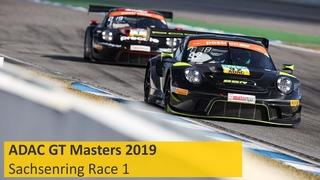 ADAC GT Masters Race 1 Sachsenring 2019 Live English