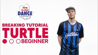 B-Boy Menno Breaking Tutorial #2 | Turtle Beginner |
