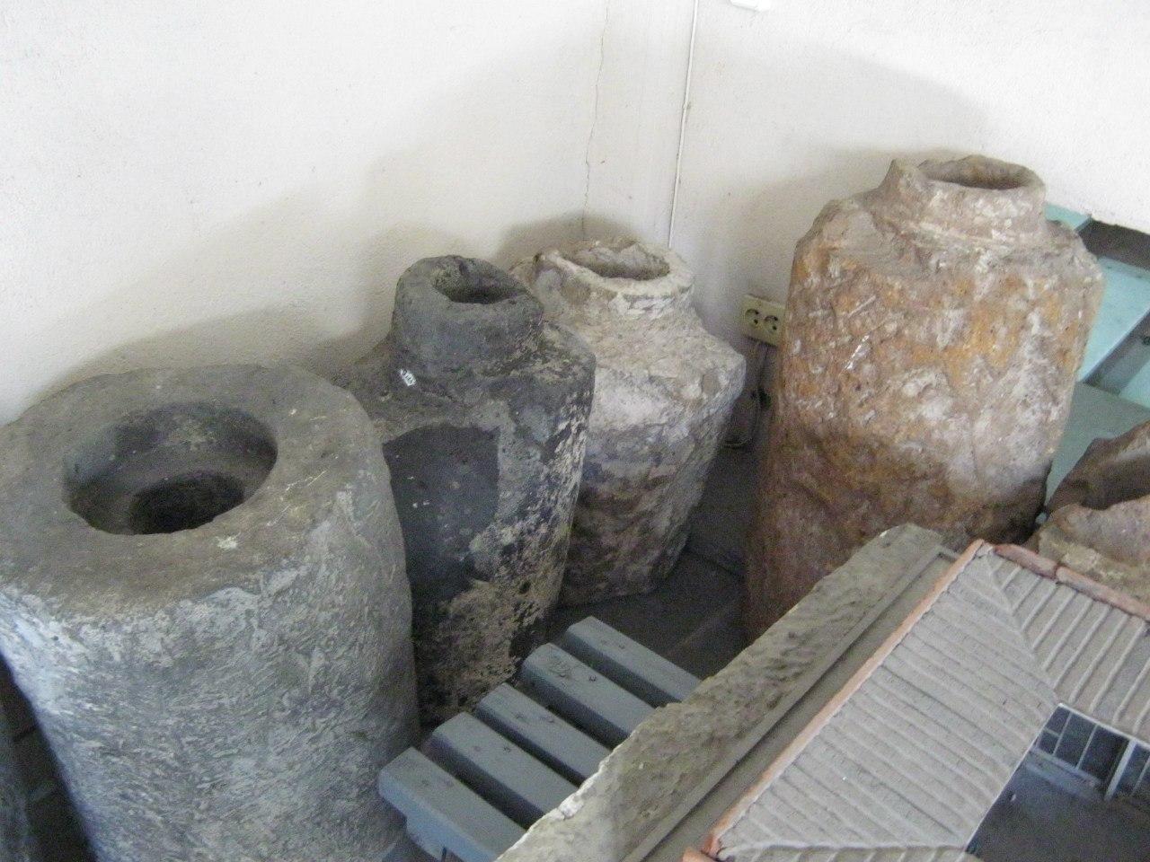 Водопровод в крепости Эребуни