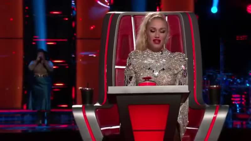 Шоу Голос США 2020 Дес с песней Не разбивай мое сердце The Voice USA Desz Gets Unbreak My Heart