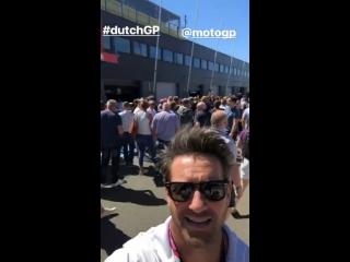 | Тайлер и Иэн Боэн на Гран-при Нидерландов, Ассен