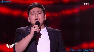 The Voice Kids 2020 France   Samvel   Tun Im Hayreni - Arabo Ispiryan  [Blind Audition]