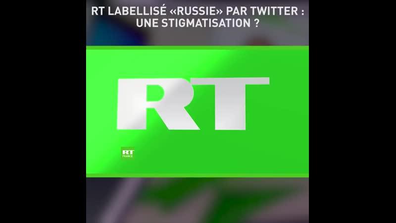 RTFrance labellisé Russie par Twitter une stigmatisation - - Lire larticle - .mp4