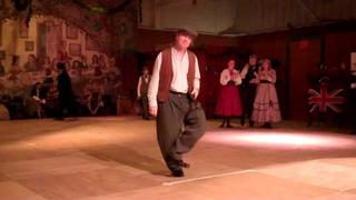 Old-style Irish step dance - Michael Riemer at the 2011 Dickens Fair