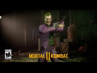 Mortal Kombat 11 - Трейлер Джокера