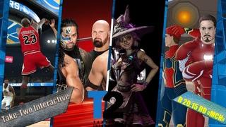 Конференция Take-Two Interactive (NBA 2K22, WWE 2K22, Tiny Tina's Wonderlands) в 20:15 по (Мск)