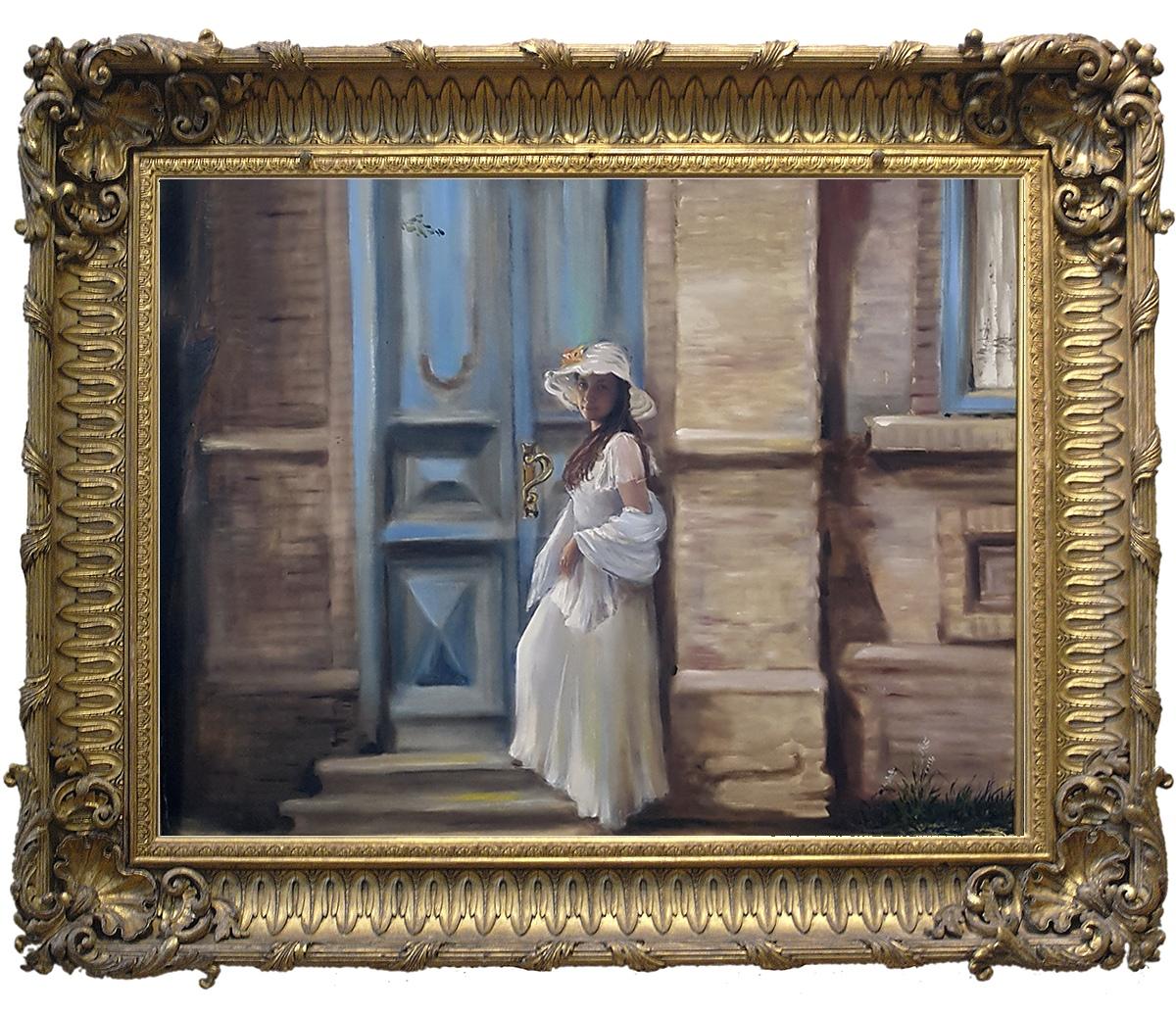 "Картина ""Старая дверь"""