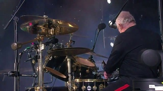 "Queen+Adam Lambert Perform ""We Will Rock You"" At Fire Fight Australia On 2/16/20"