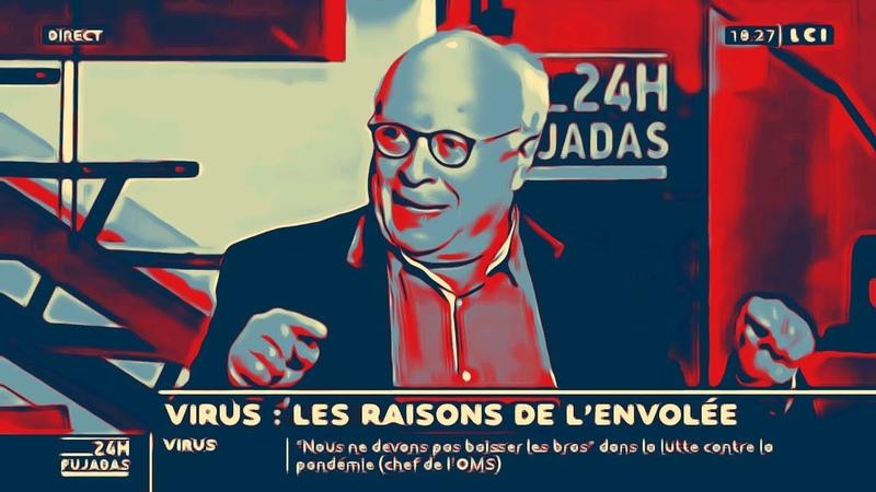 CoVid 19 André Bercoff porte la voix de la vérité et déballe tout sur LCI à voir et à relayer