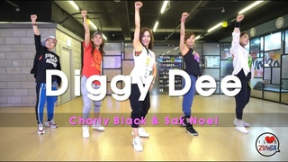 [ZUMBA]  Diggy Dee  /  Charly Black & Sak Noel  /  WORK OUT / CINDY