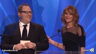 Hollywood loves Harvey Weinstein - montage of Matt Damon, Jennifer Lawrence, Meryl Streep etc