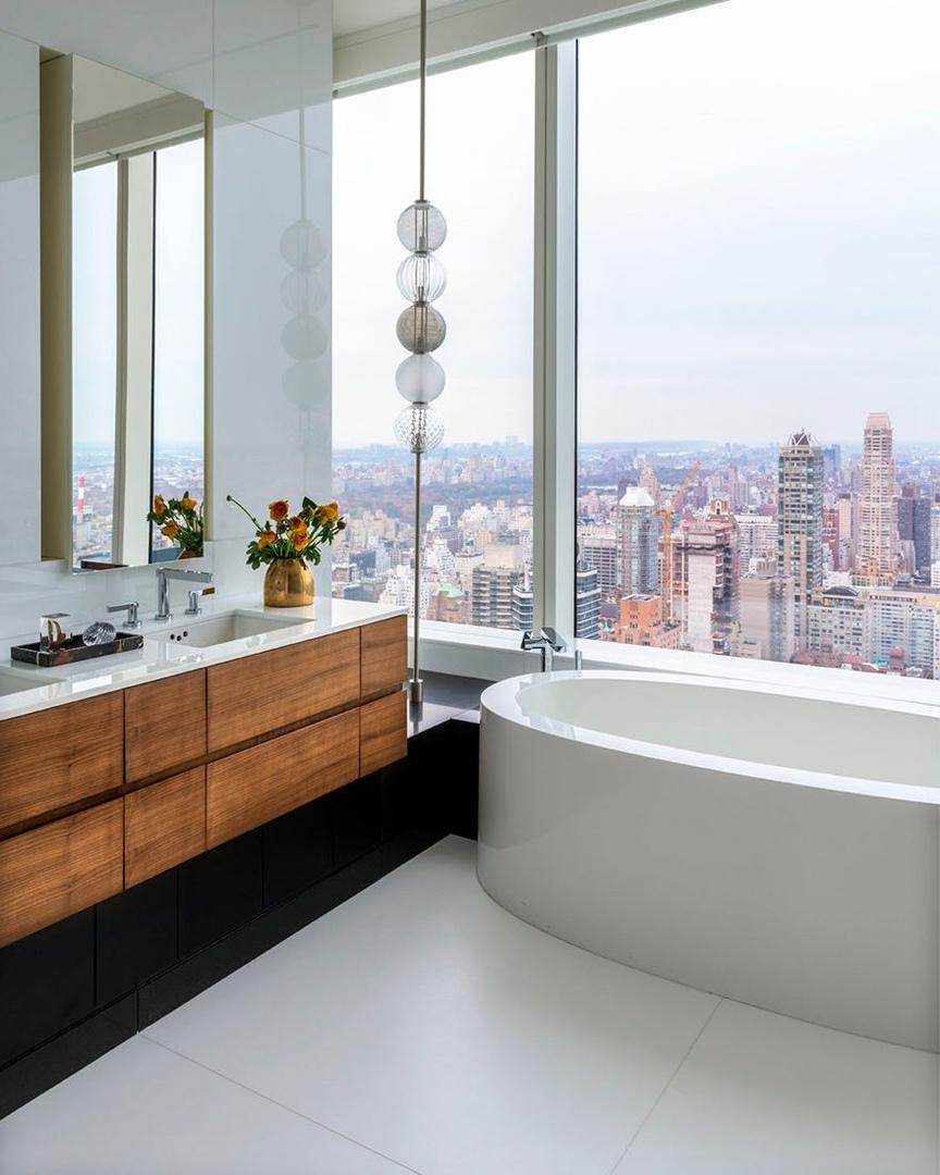Квартира на 60-м этаже по дизайну Дэвида Скотта    02