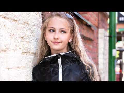 Удлиненная ветровка Кьяра для девочек от 7 до 13 лет