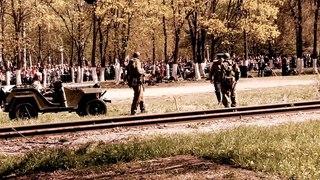 Военная реконструкция. Аллея Славы, Нижний Новгород, Автозавод