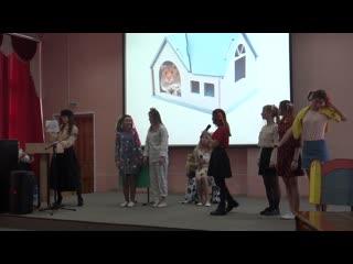 Marry Poppins  Сценка 22н