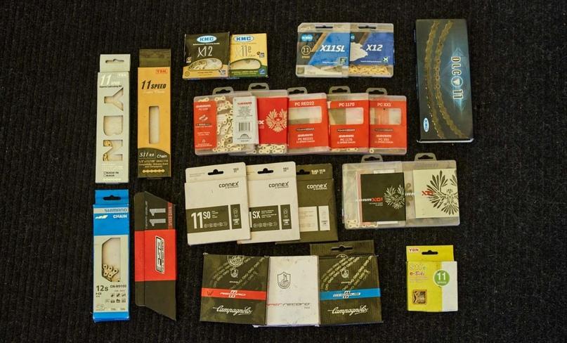Адам исследовал 31 модель цепей купленных на деньги из своего кармана. Это большинство но не все из них.
