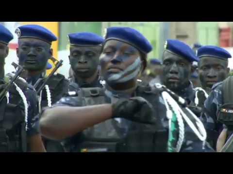1er Août 2019 59ème célébration la Fête nationale du Bénin Défilé militaire et paramilitaire