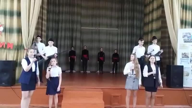 Коллектив 9А класса МБОУ Ирбейская СОШ №1 Булат Окуджава До свидания мальчики