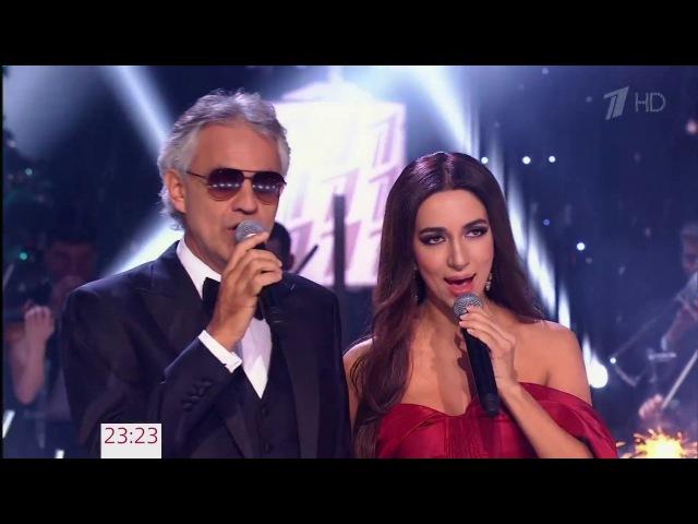 Зара и Андреа Бочелли Time to say goodbye Zara Andrea Bocelli Time to say goodbye 2017