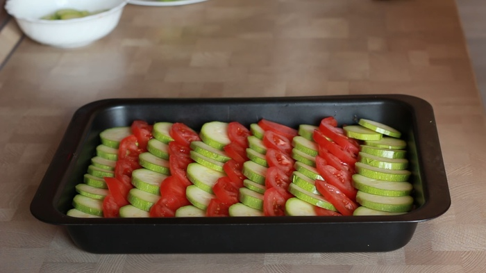 Вкусная запеканка из кабачков с мясным фаршем, изображение №2