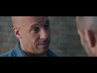 FFASTSAGA Форсаж 8 - Удаленная сцена Разговор между Декарт Шоу и Домиником #FAST8