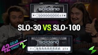 Soldano SLO-30 vs SLO-100 with John Browne and Mike Soldano